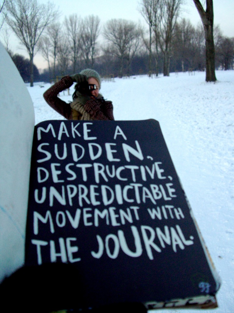 Unpredictable Movement with the Journal