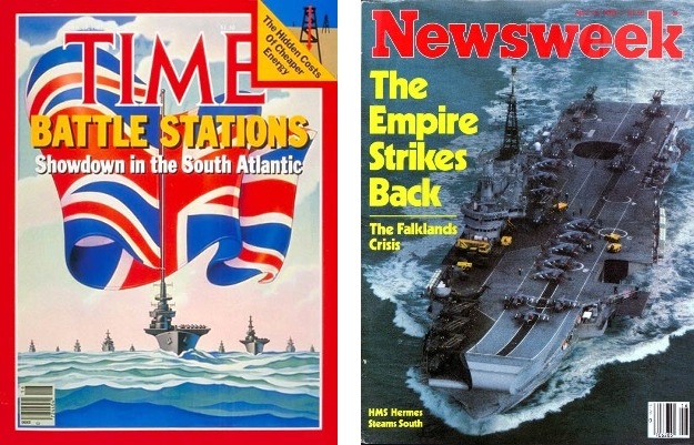 Falklands Media Covers