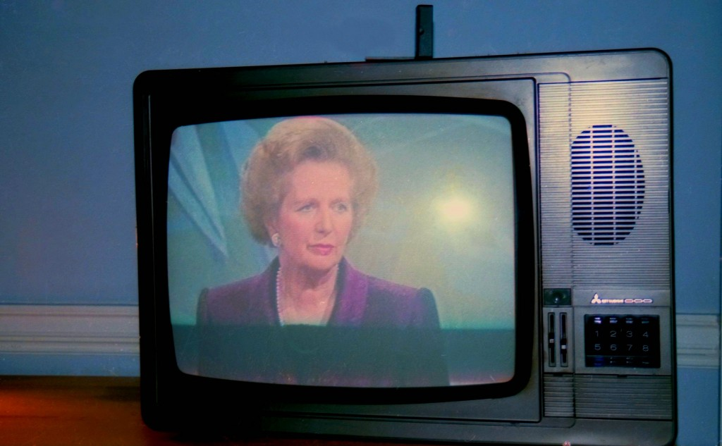 Thatcher on TV